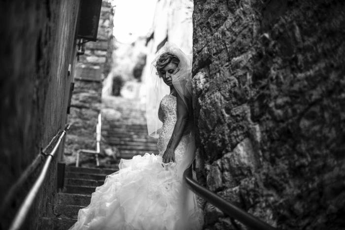 Trash the Dress FotoOri Studio Wedding Photographer