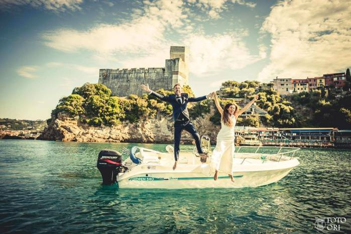 Trash the Dress Sea FotoOri Studio Wedding Photographer